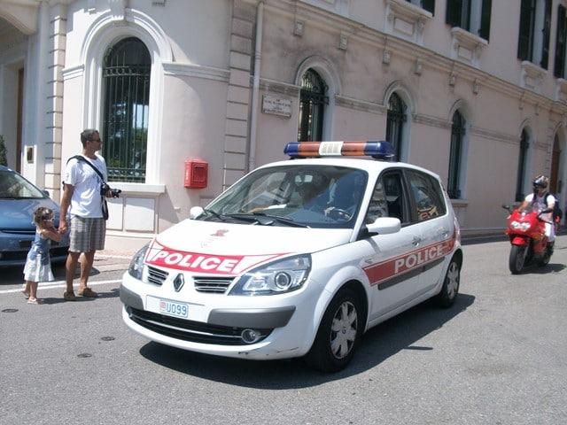 משטרת מונקו בפעולה