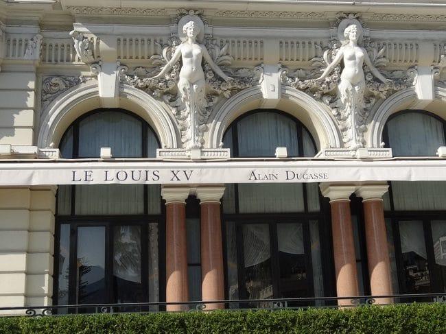 Le Louis XV - Alain Ducasse – מבט מבחוץ