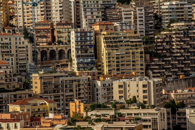 בנייני מגורים במונקו