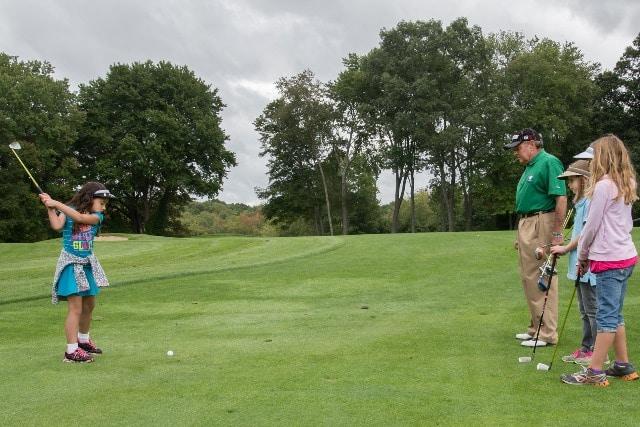 שיעור גולף במועדון הגולף מונטה קרלו