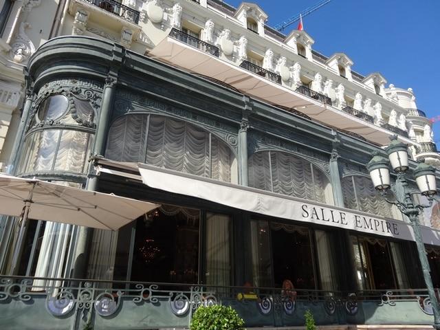מסעדת Salle Empire מבחוץ - מפנים זה גם טעים
