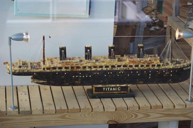 מודל מוקטן של הטיטניק