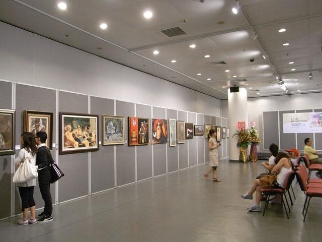 תערוכת אמנות במונקו