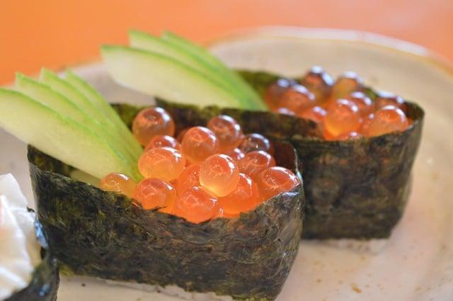 פירות ים במסעדת La Vigie במונקו