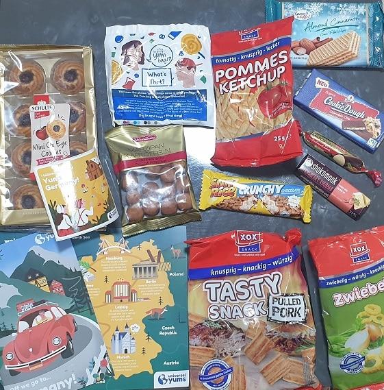 ממתקים מגרמניה